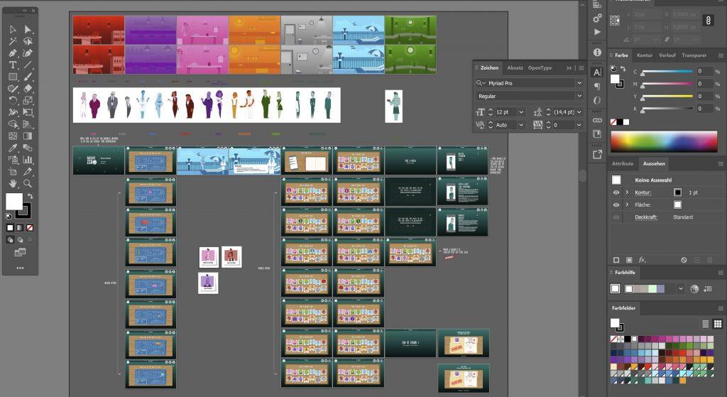 Design Process in Illustrator